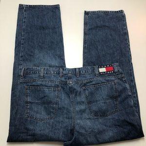 Vintage Tommy Hilfiger Denim Jeans Mens 42x34